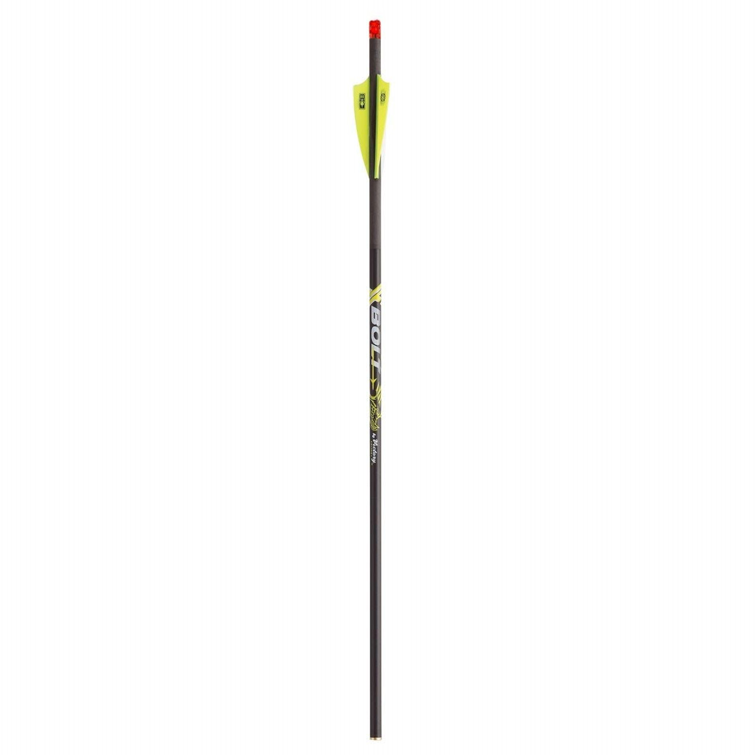 "BloodSport Hunter .003 22/"" Crossbow Bolts w// Moon Nocks /& 4/"" Vanes 6 Pack"