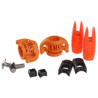 AMS Bowfishing EverGlide Safety Slide 2-Pack Orange M140-2-ORG