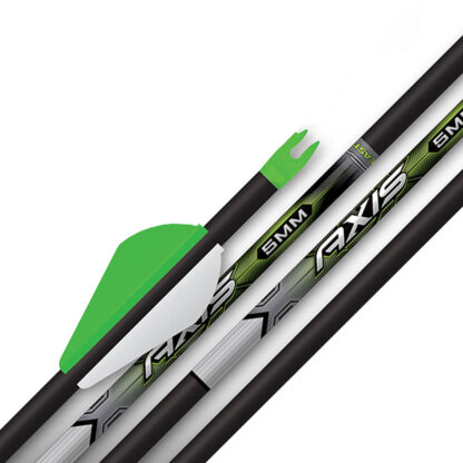 Easton Axis 5mm Carbon Arrow Fletched