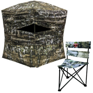 Primos Double Bull 360 Ground Blind 65150 with Chair
