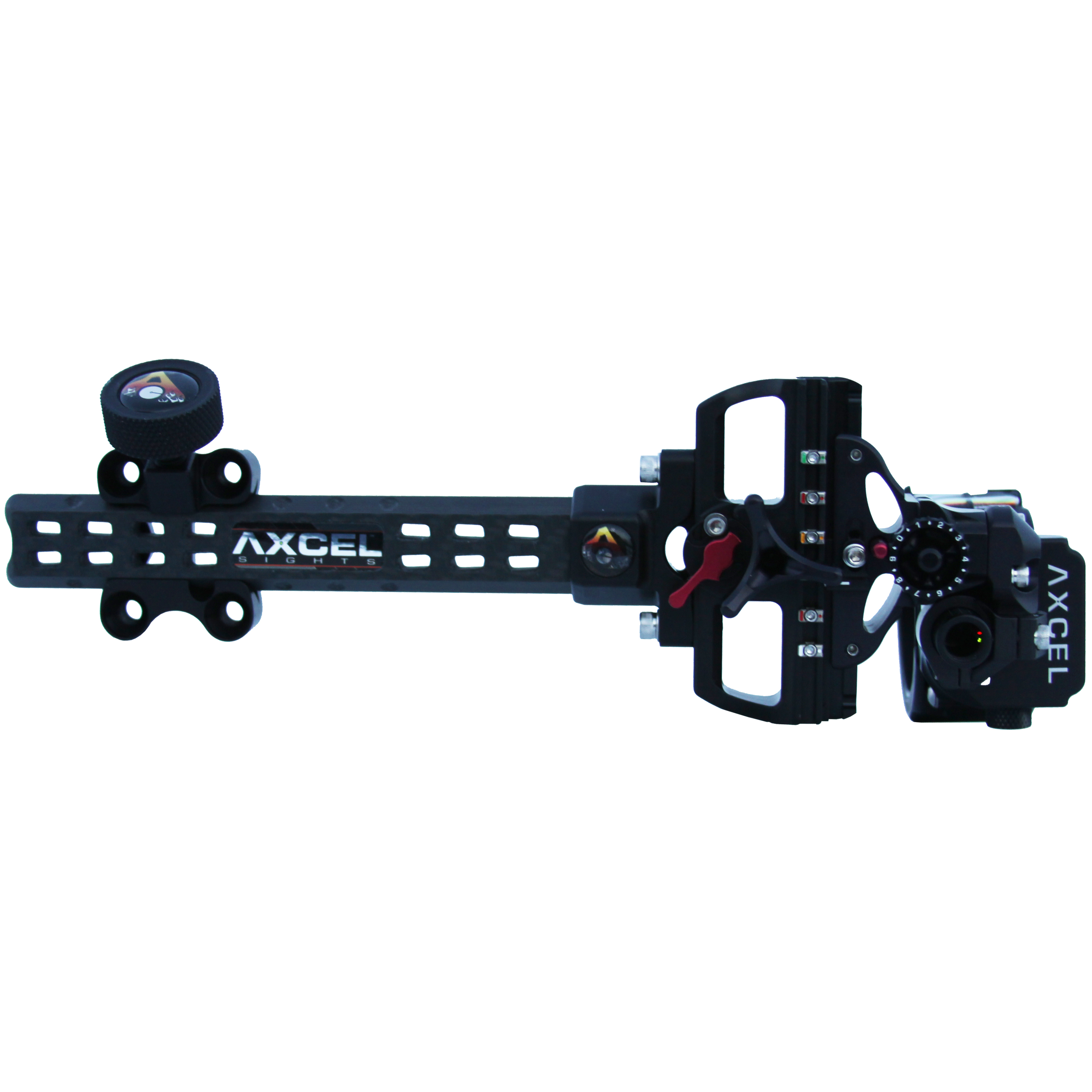 Left Hand//Right Hand Axcel ACUT-D319-4BK Accu Touch HD Stat 3 Pin .019 Archery Sight
