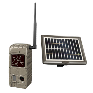 CuddeBack CuddeLink Power House Black Flash G-5079 Camera With Solar Panel