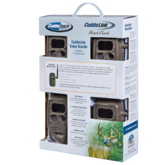 CuddeBack CuddeLink Black Flash Cameras 4 Pack Box 11445