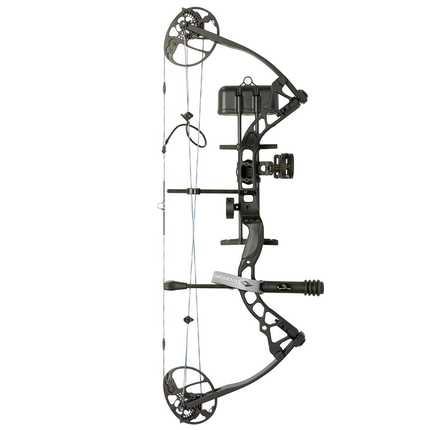 Diamond Archery Infinite Edge Pro Bow Package Black Ops Left Hand 5-70lb