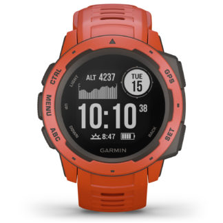 Garmin Instinct GPS Watch Flame Red 010-02064-02