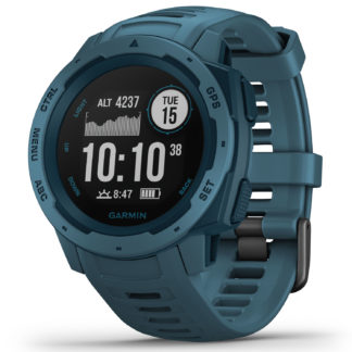 Garmin Instinct GPS Watch Lakeside Blue 010-02064-04