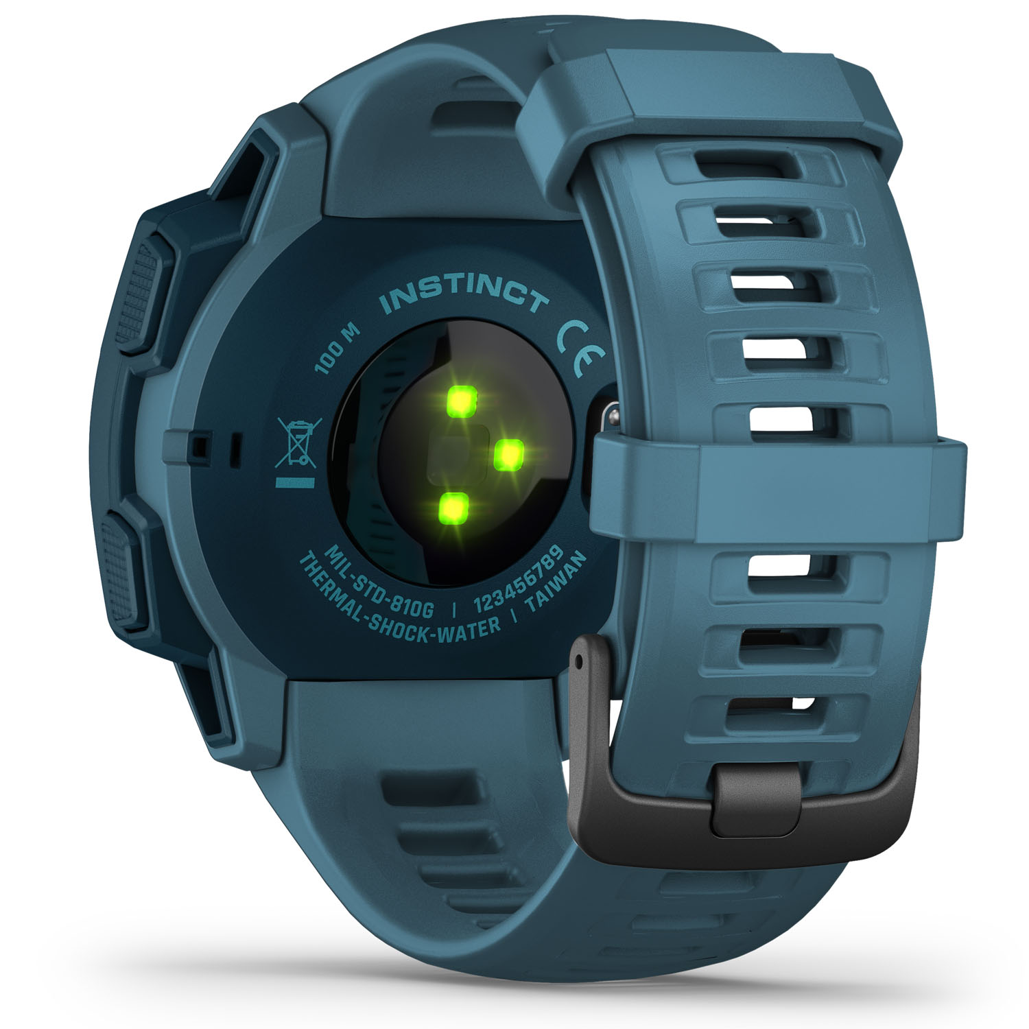 Excellent Reasons To Use Gps Navigation Keeping Track Of Apps Garmin-22863-Garmin-Instinct-GPS-Watch-Lakeside-Blue-010-02064-04-Back