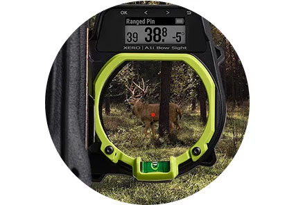 Garmin Xero A1 Sight Range