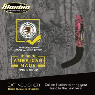 Illusion Game Call System Extinguisher Deer Call Pink
