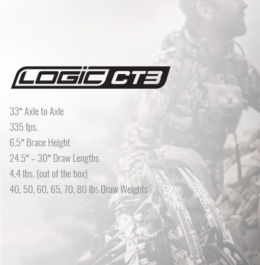 Prime Archery Logic CT3 Compound Bow Description Pic