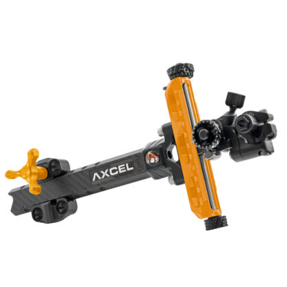 Axcel Archery Sights Achieve XP UHM Carbon Bar Compound 9 Right Hand Orange
