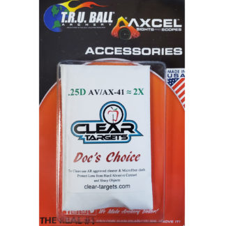 Axcel Sight X-41 Clear Target Docs Choice Lens 2X AX41-CTDC-2X