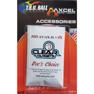 Axcel Sight X-41 Clear Target Docs Choice Lens 4X AX41-CTDC-4X