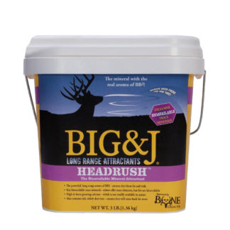 Big and J Attractants Headrush Mineral BB2-BKM20