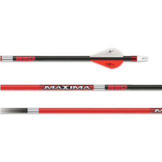 Carbon Express Maxima Red Fletched 50753 50754