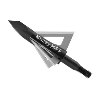 Muzzy Broadhead MX-3 3 Blade Broadhead 225-MX3-3