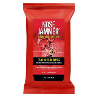 Nose Jammer Gear-N-Rear Field Wipes 3120