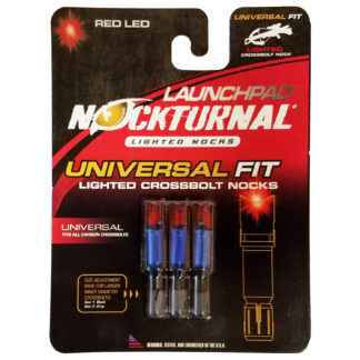 Nockturnal Launchpad Crossbow Lighted Nock Red NT-772