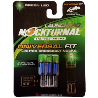 Nockturnal Launchpad Crossbow Lighted Nock Green NT-775