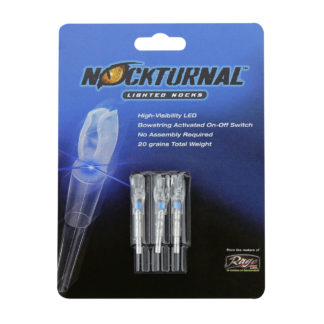 Nockturnal Blue Lighted Nocks