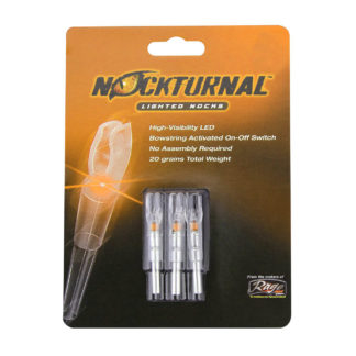 Nockturnal Orange Lighted Nocks