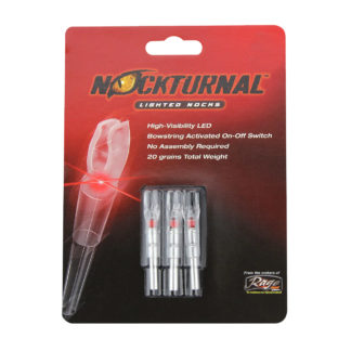 Nockturnal Red Lighted Nocks GT S H X G