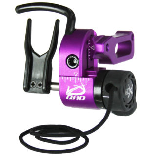 Quality Archery Designs UltraRest HDX Arrow Rest Purple Right Hand