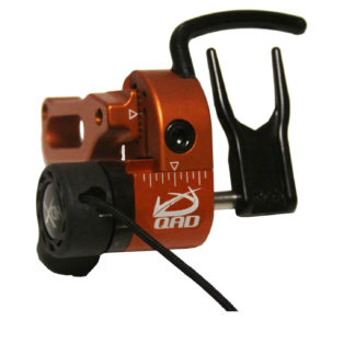 Quality Archery Designs UltraRest HDX Arrow Rest Orange Left Hand