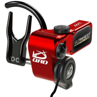 QAD UltraRest MXT Micro Adjust Arrow Rest Right Hand Red