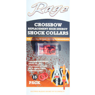 Rage Crossbow Broadhead Replacement Shock Collars R32700