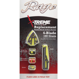 Rage Broadhead X-Treme Replacement Blades R51205