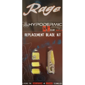 Rage Broadhead Replacement Blades Hypodermic NC R38105