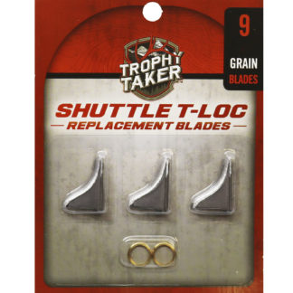 Trophy Taker Shuttle T-Loc Replacement Blades 100 Grain T7003