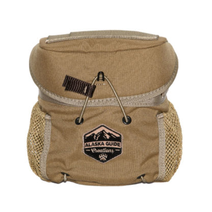 Alaska Guide Creations KISS Bino Harness Coyote Brown KS-CB