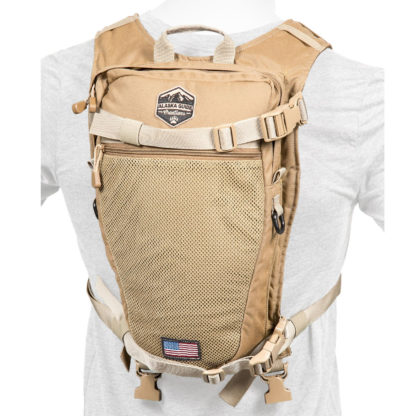 Alaska Guide Creations Stalker Hydration Pack Coyote Brown STK-CB