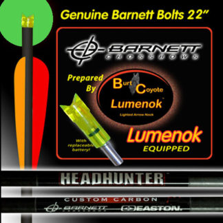 Lumenok Barnet Headhunter Bloodsport Bolt Green 22 inch BNECC223G