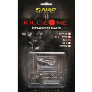 New Archery Products Killzone Maxx Broadhead Replacement Blades 60-730