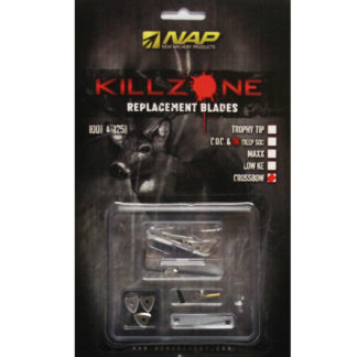 New Archery Products Crossbow Killzone Broadhead Replacement Blades 60-732