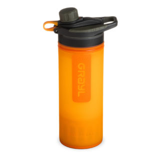 Grayl Geopress Water Purifier Visibility Orange