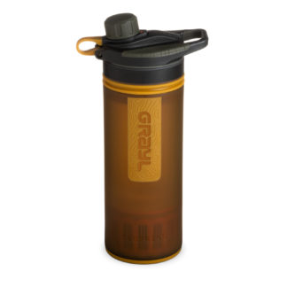 Grayl Geopress Water Purifier Coyote Amber