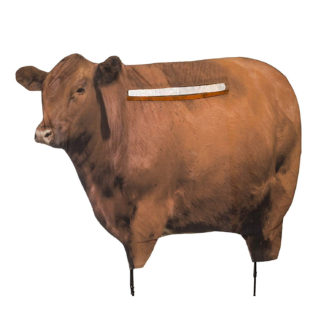 Montana Decoy Big Red Moo Cow 0051