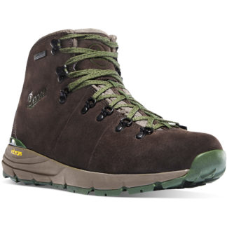 Danner Boots Mountain 600 Dark Brown Green Hiking Boot 62243