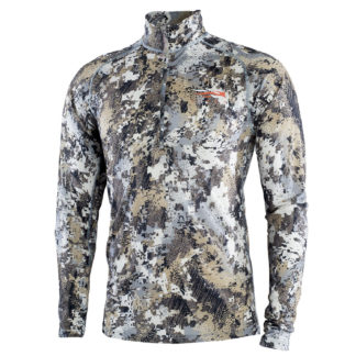 Sitka Gear Merino CORE Light Weight Half-Zip Optifade Elevated II 10056-EV Top