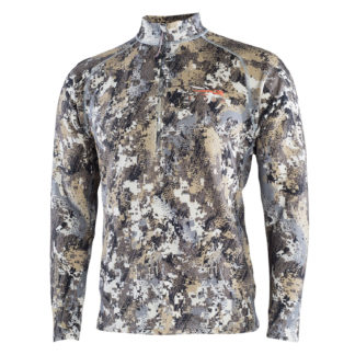 Sitka Gear Merino Heavyweight Top Half-Zip Optifade Elevated II 10074-EV