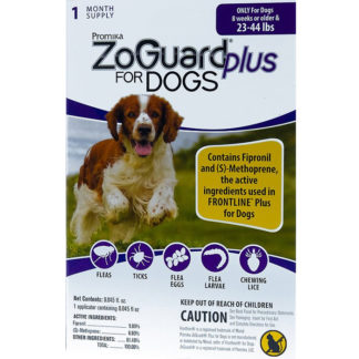 ZoGuard Plus For Dogs Flea and Tic 23-44 lbs