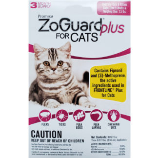 ZoGuard Plus For Cats Flea and Tick