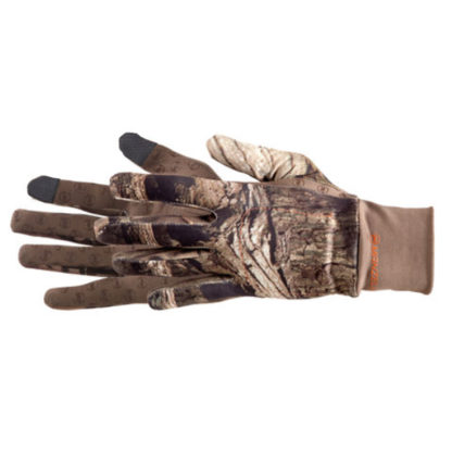 Manzella Snake Touchtip Hunting Gloves Realtree Xtra