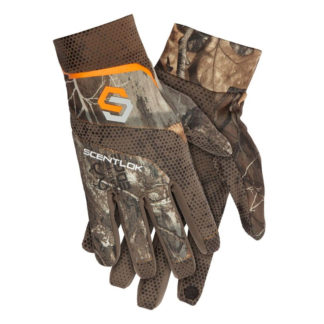 Scentlok Clothing SAVANNA LIGHTWEIGHT SHOOTERS GLOVE Realtree Edge