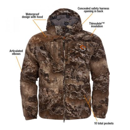 Scentlok Clothing Fortress Parka BE1 Realtree Excape Bowhunter Elite