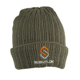 Scentlok Carbon Alloy Knit Cuff Beanie Green 80382
